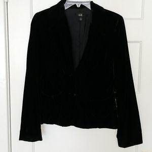 AGB Black Velvet Blazer